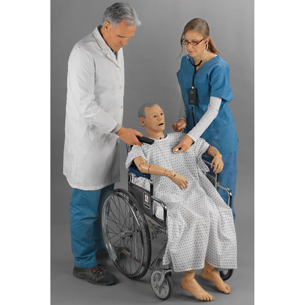 Simulation-based learning with a full-body manikin in a wheelchair