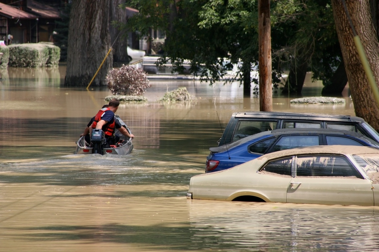 Impact of Natural Disasters on Healthcare Responders